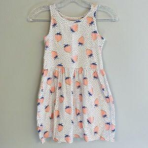 Kids 7 🍓 Carters Strawberry Print Dress